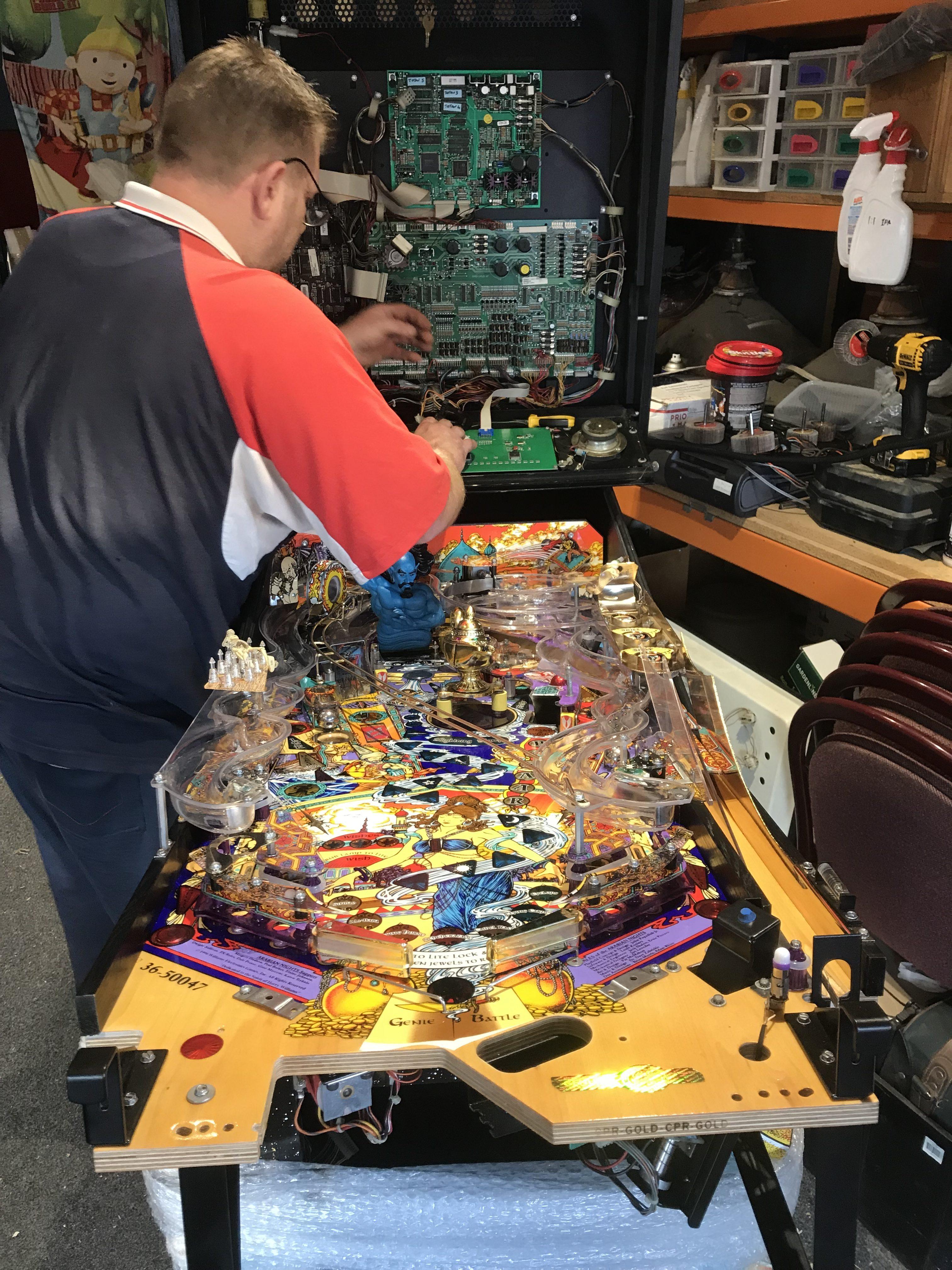 Pinball Repair